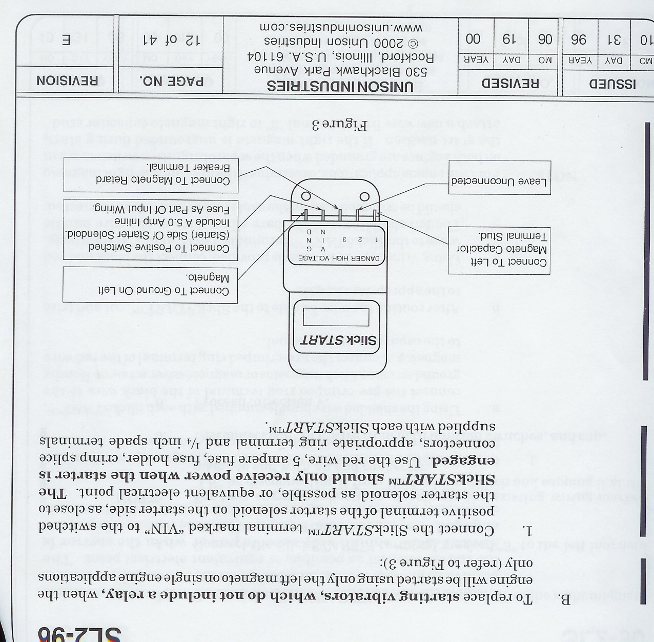 SL2 96_B1_180 matronics email lists view topic wiring diagram for slick bendix shower of sparks wiring diagram at mifinder.co